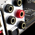 golden audio jacks with s/pdif