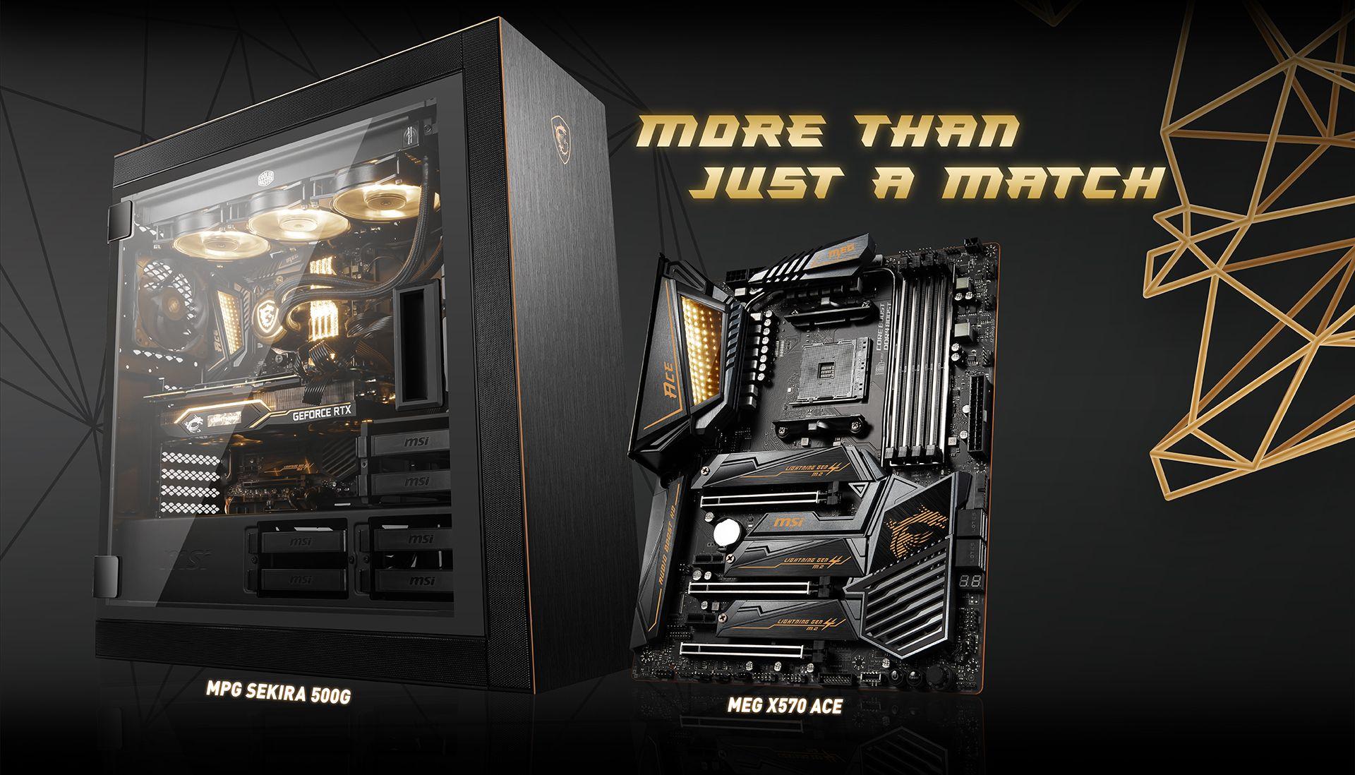 MSI MEG X570 ACE & MPG SEKIRA 500G BG