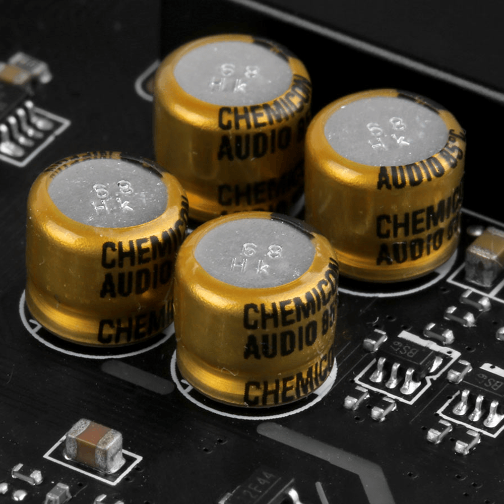 MSI Audio Capacitors