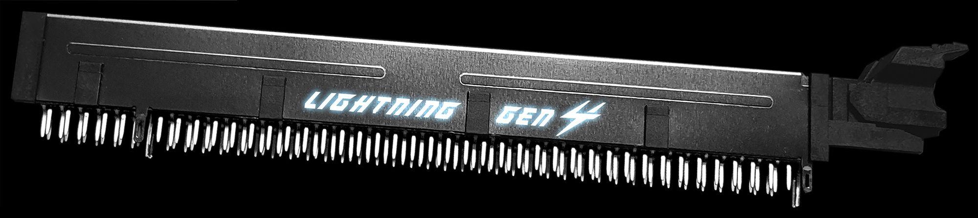 MSI X570 LIGHTNING GEN 4 PCI-E