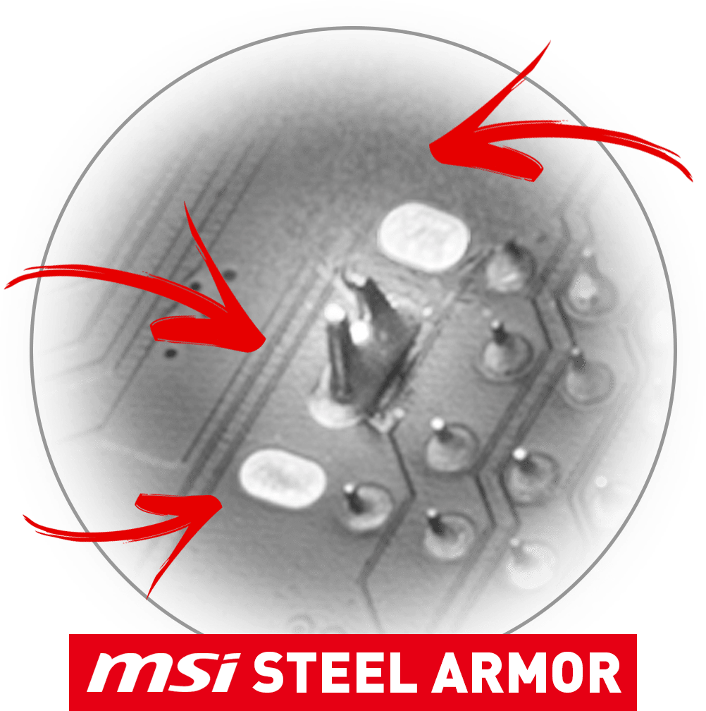 MSI X570 LIGHTNING GEN 4 PCI-E STEEL ARMOR