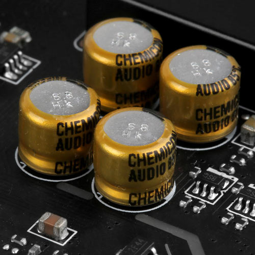 High-quality Audio Capacitors