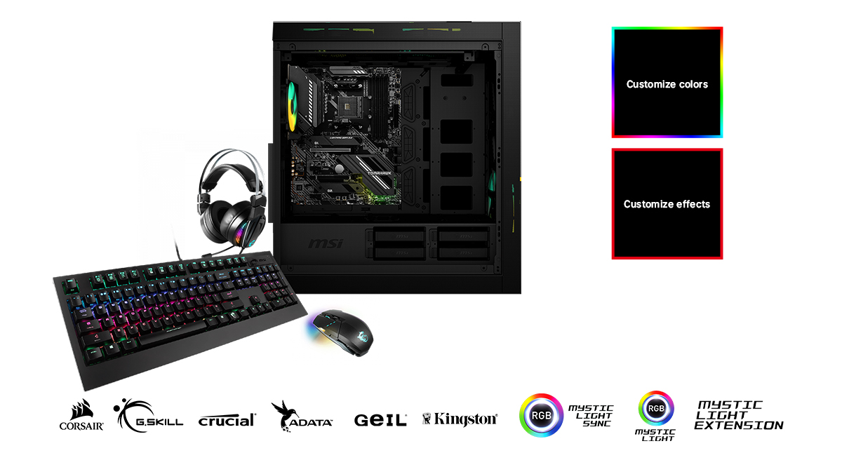 MSI MAG X570S TOMAHAWK MAX WIFI CUSTOMIZE YOUR GAMING RIG