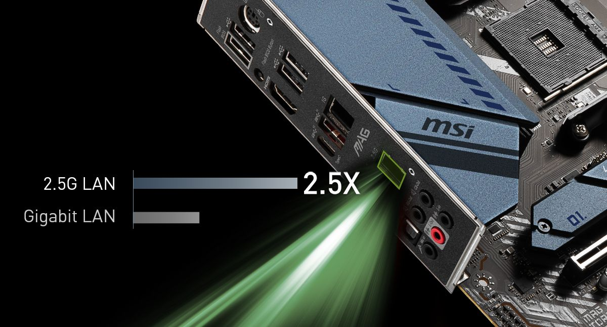 MSI MAG X570S TORPEDO MAX DUAL LAN WITH 2.5G LAN