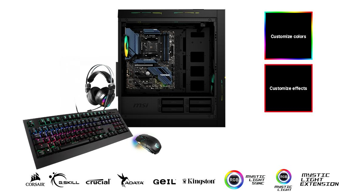 MSI MAG X570S TORPEDO MAX CUSTOMIZE YOUR GAMING RIG