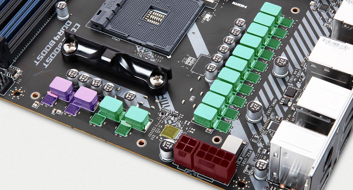 MSI MAG X570S TORPEDO MAX DUET RAIL POWER SYSTEM