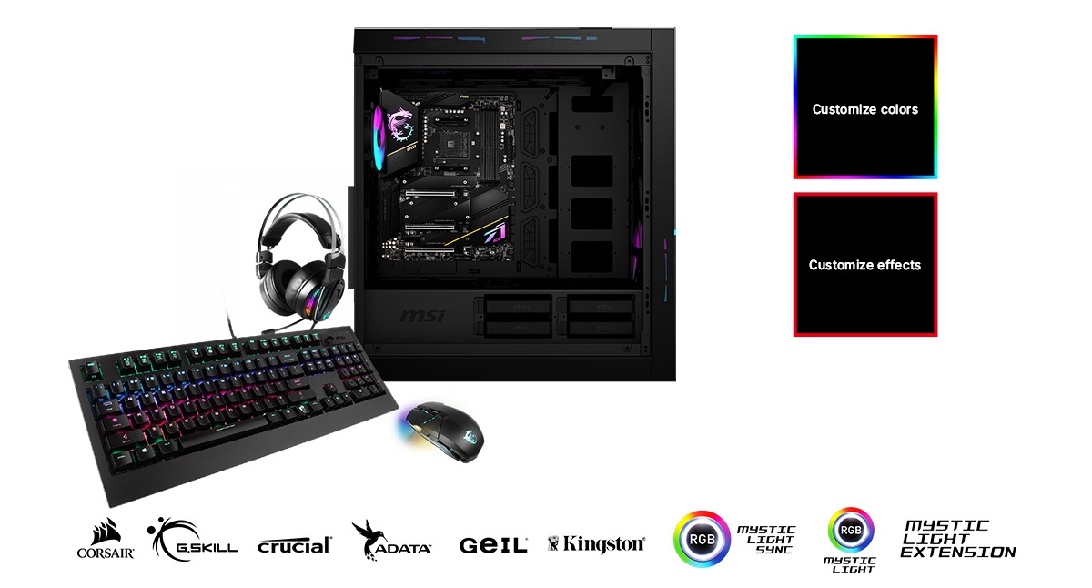 MSI MEG X570S ACE MAX CUSTOMIZE YOUR GAMING RIG