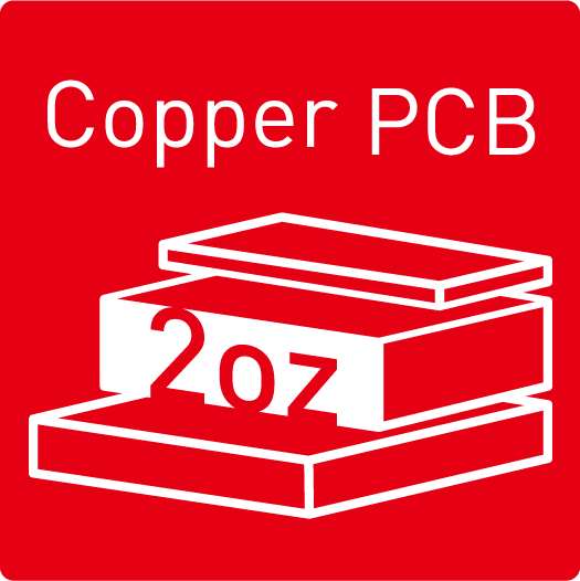 2oz Thickened Copper PCB