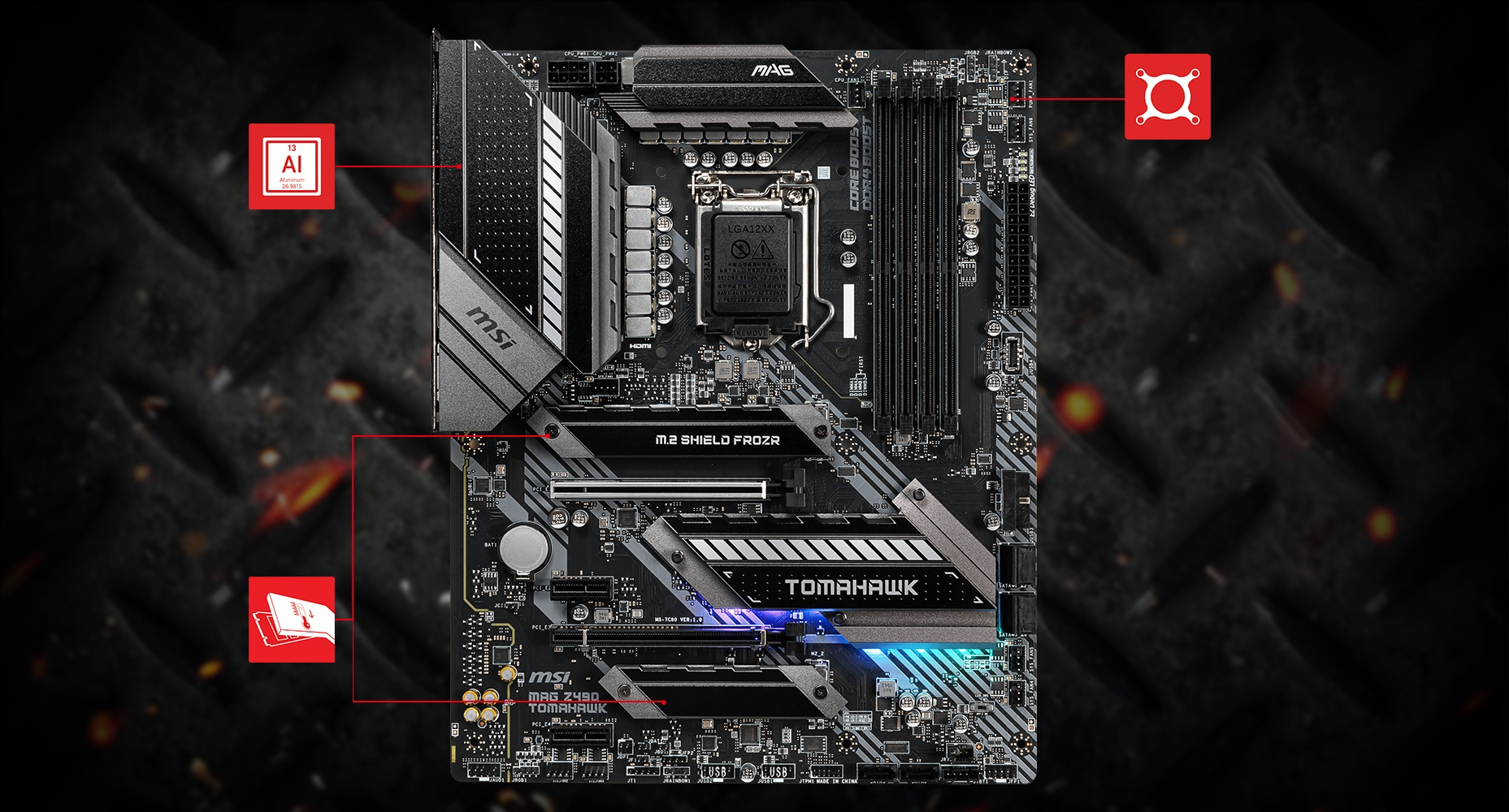 MSI MAG Z490 TOMAHAWK THERMAL overview