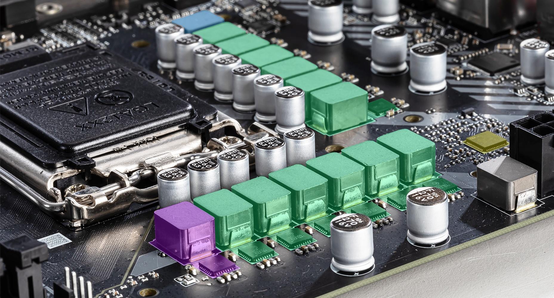 MSI MAG Z490 TOMAHAWK 12+1+1 DUET RAIL POWER SYSTEM
