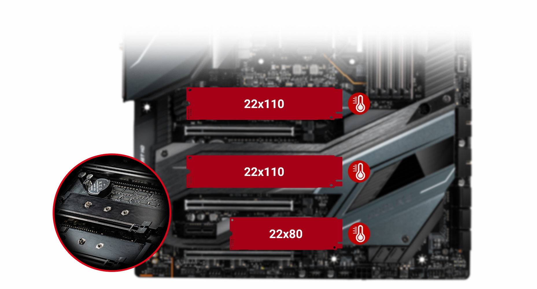 MSI MEG Z490 GODLIKE TRIPLE TURBO M.2 WITH SHIELD FROZR