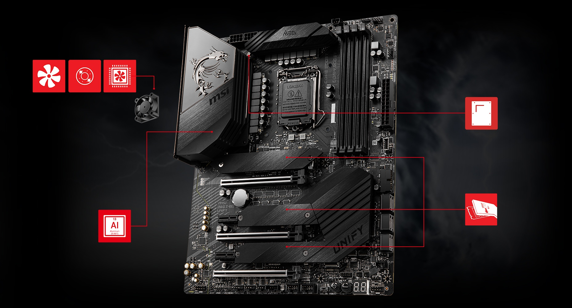 MSI MEG Z490 UNIFY CORNERSTONE overview