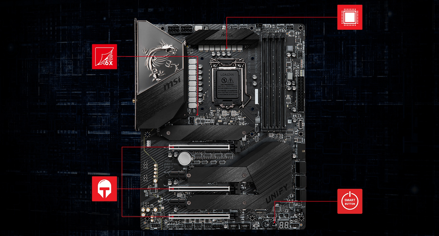 MSI MEG Z490 UNIFY THERMAL overview
