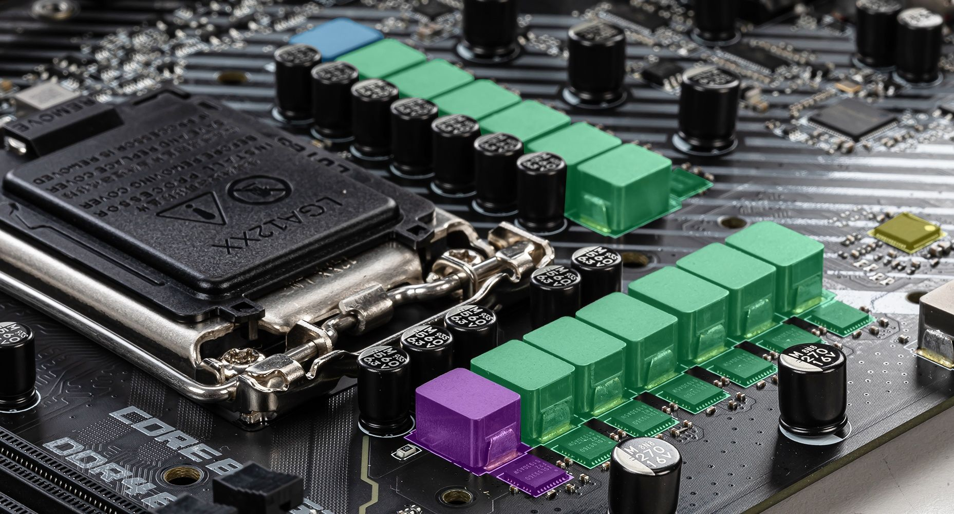 MSI MPG Z490 CARBON EK X 12+1+1 DUET RAIL POWER SYSTEM