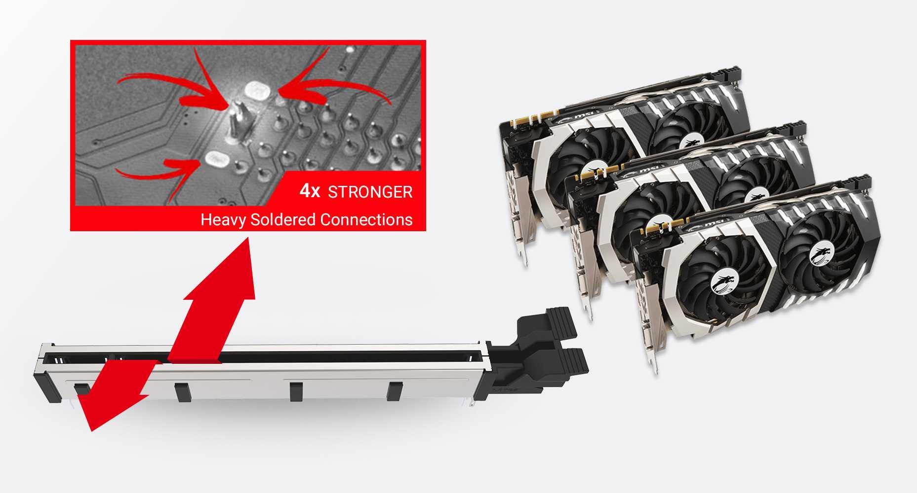 MSI MPG Z490 CARBON EK X MULTIPLE GPU SUPPORTS AND STEEL ARMOR