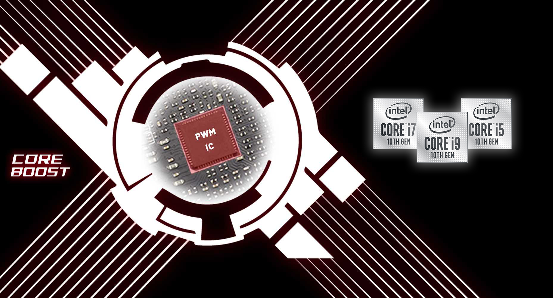 MSI MPG Z490 GAMING CARBON WIFI CORE BOOST