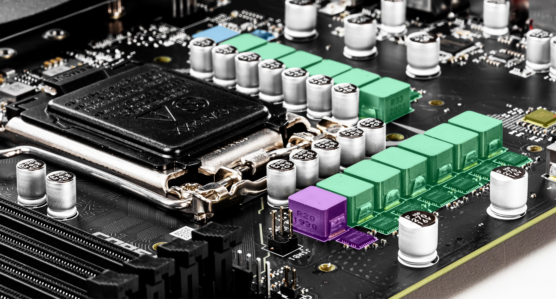MSI MPG Z490 GAMING EDGE WIFI 12+1+1 DUET RAIL POWER SYSTEM
