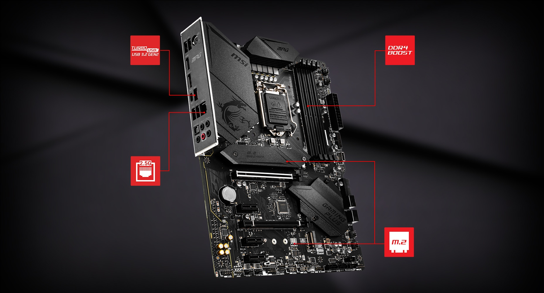 MSI MPG Z490 GAMING PLUS LIGHTNING overview