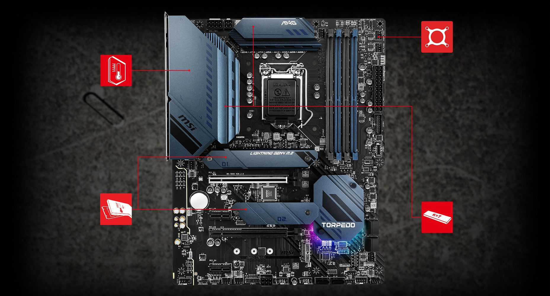 MSI MAG Z590 TORPEDO THERMAL overview