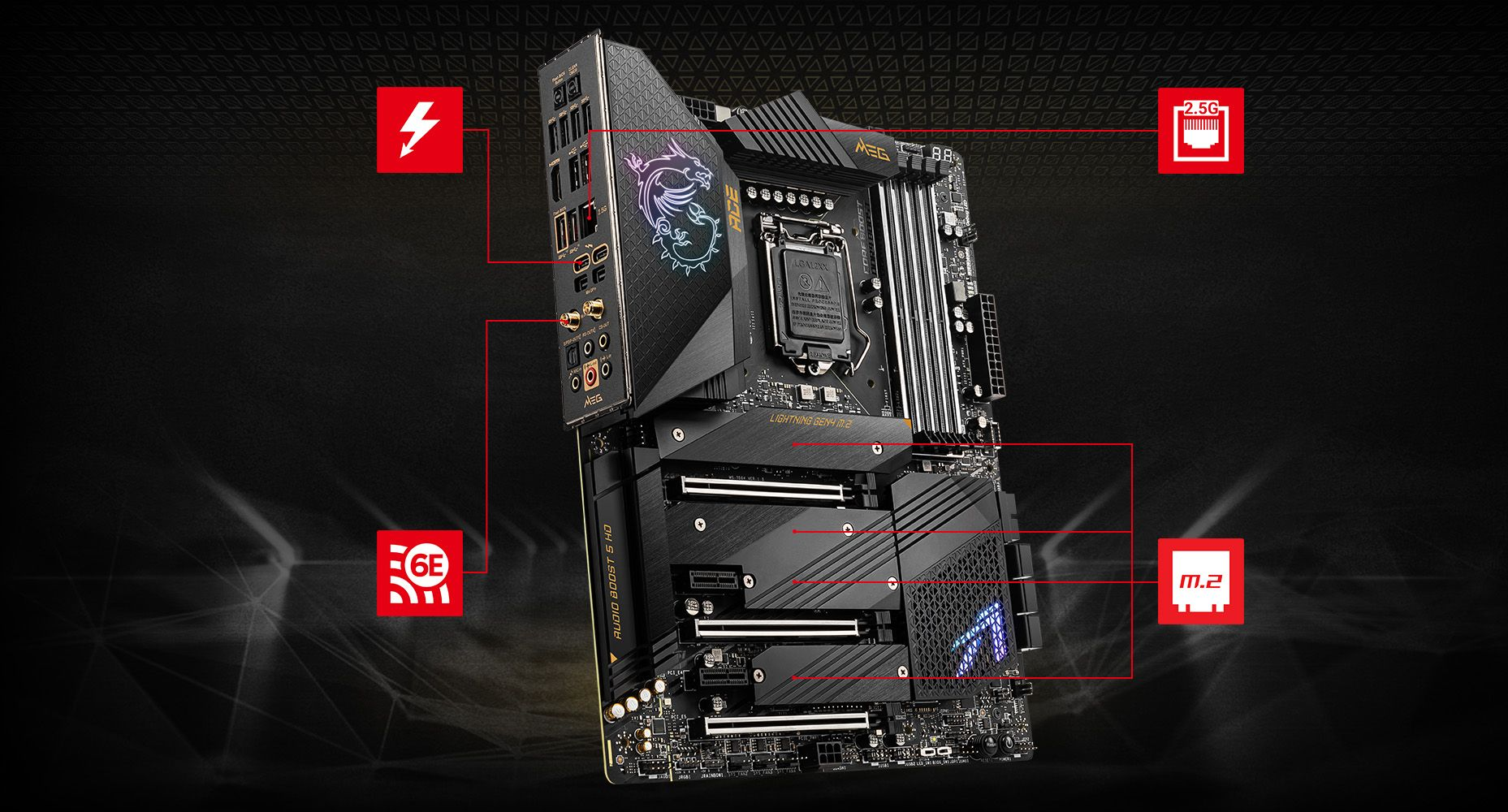 MSI MEG Z590 ACE LIGHTNING overview