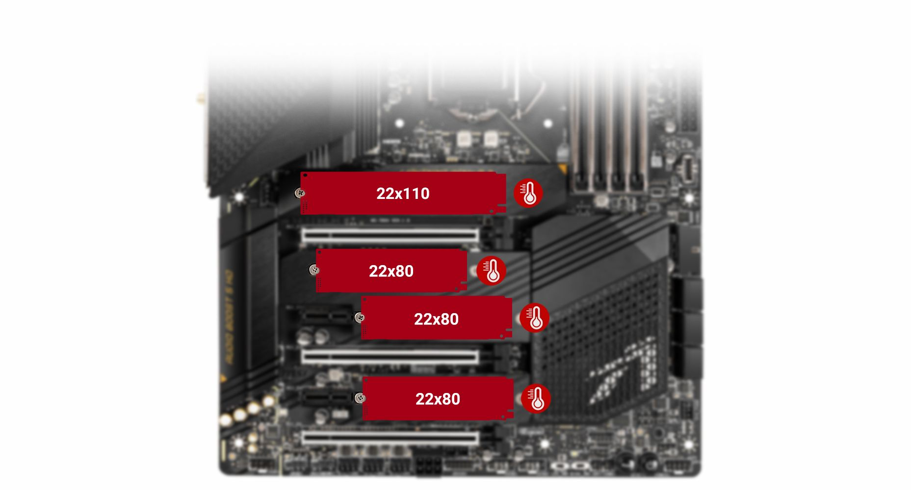 MSI MEG Z590 ACE QUADRUPLE M.2 WITH SHIELD FROZR