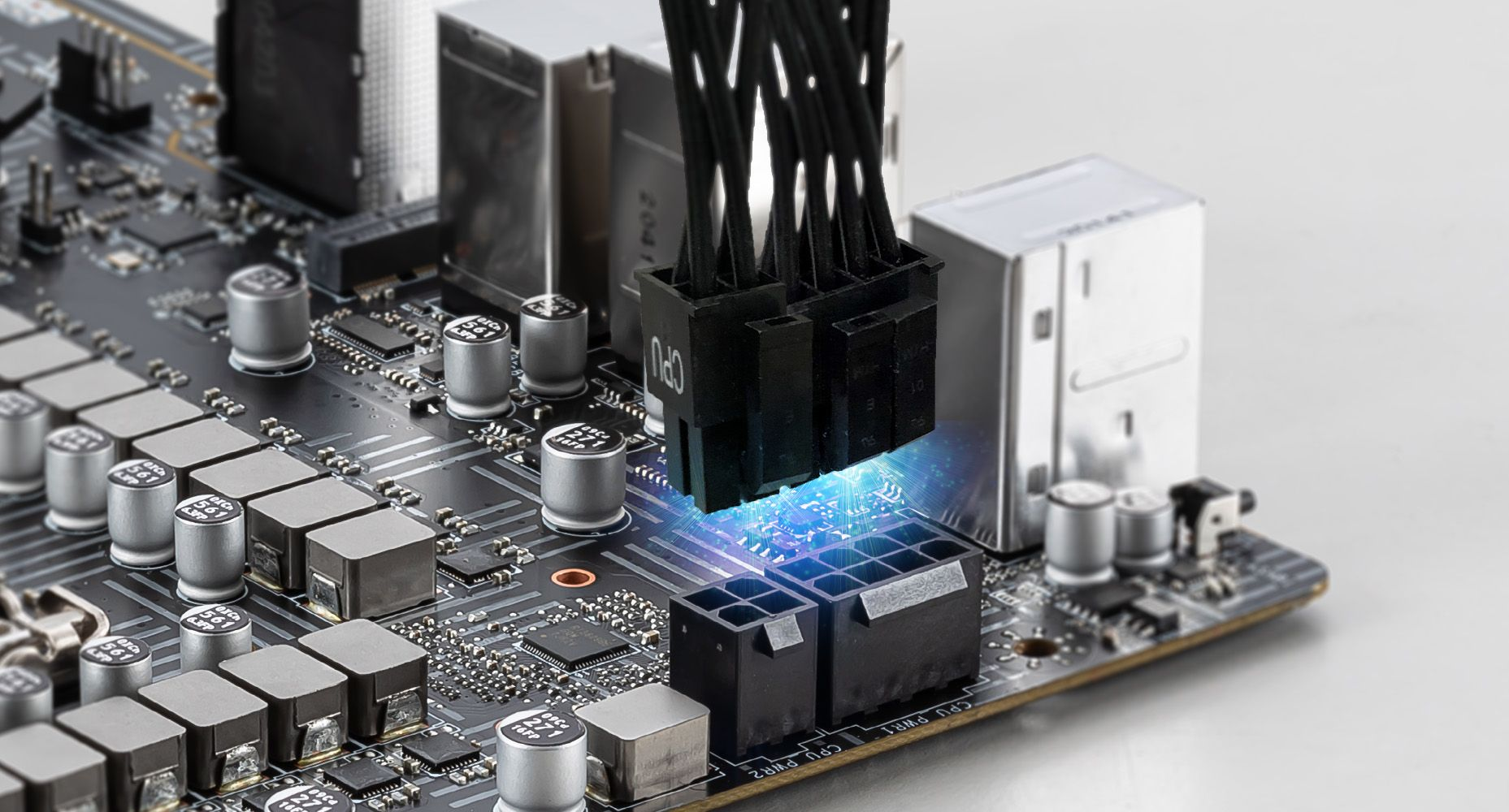 MSI Z590-A PRO Double Power Connectors
