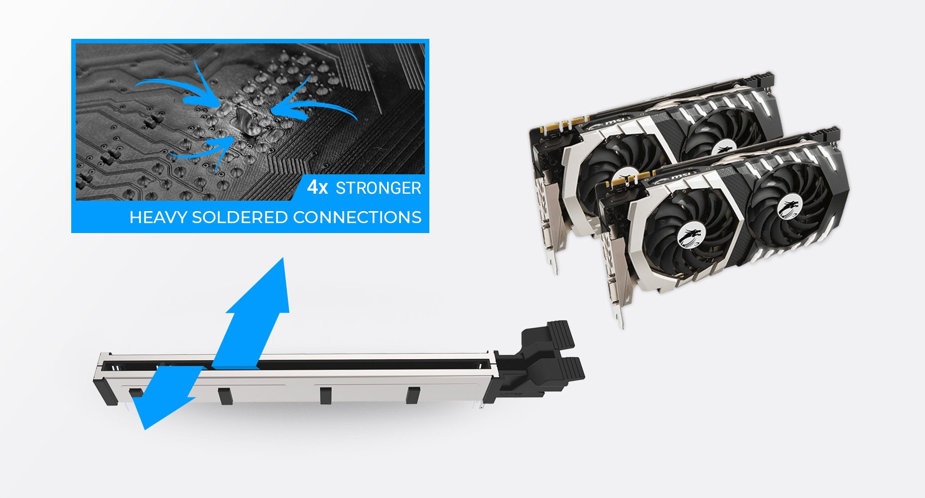 MSI Z590-A PRO MULTIPLE GPU SUPPORTS AND STEEL ARMOR