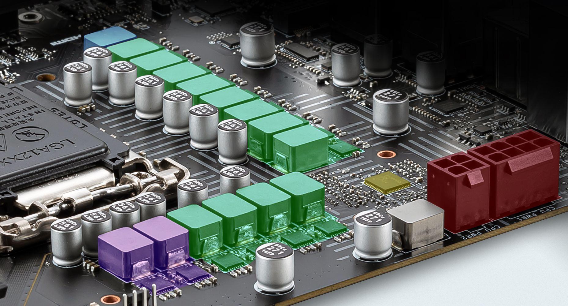 MSI Z590-A PRO 2 +1 DUET RAIL POWER SYSTEM