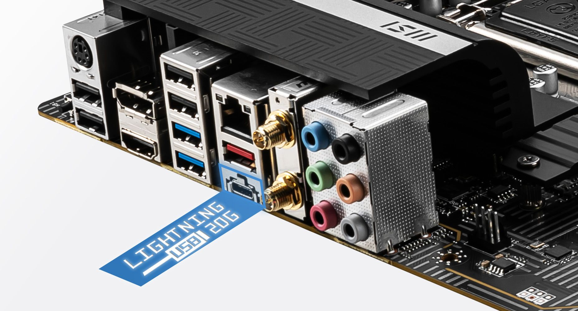 MSI Z590 PRO WIFI FASTER LIGHTNING USB 20G