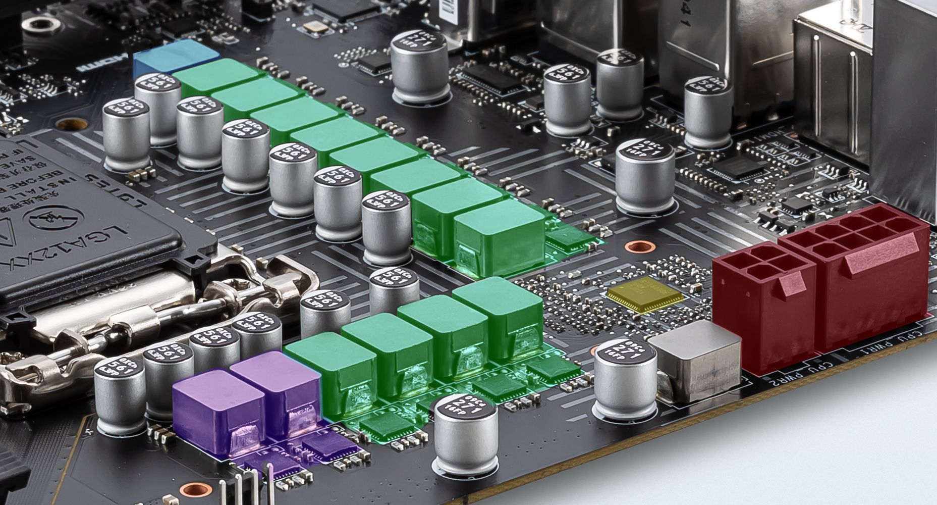 MSI Z590 PRO WIFI 12 + 2 + 1 DUET RAIL POWER SYSTEM