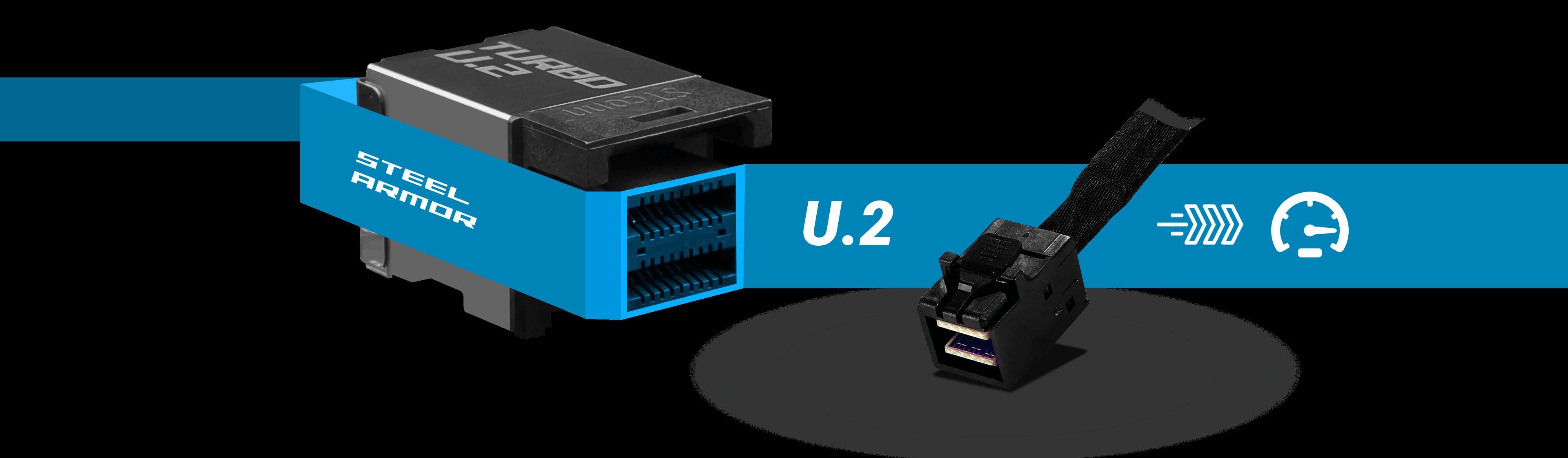NOUVELLE GENERATION DE SSD : LE CONNECTEUR U.2 AVEC STEEL ARMOR