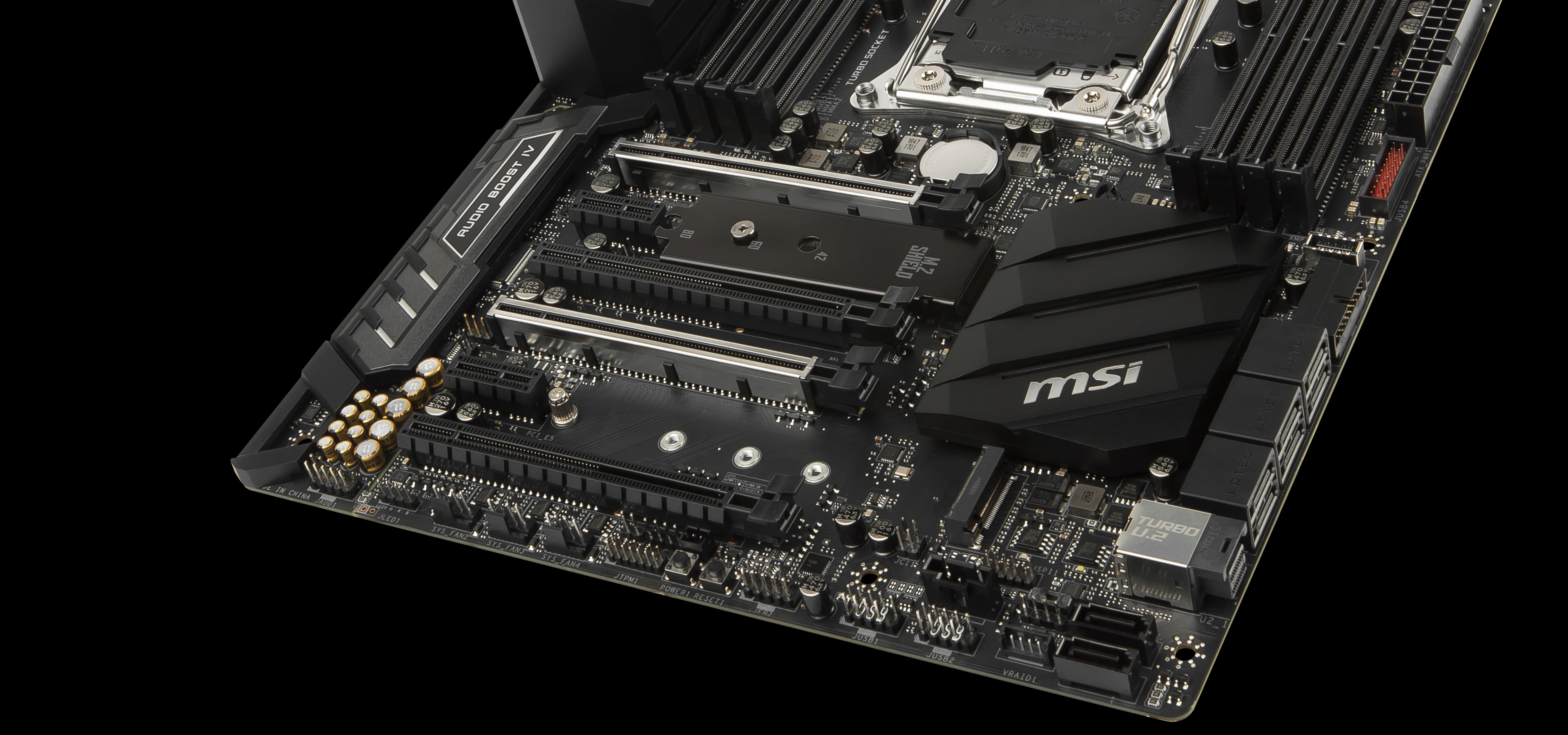 For Design Workstation Build | MSI X299 SLI PLUS Motherboard | MSI