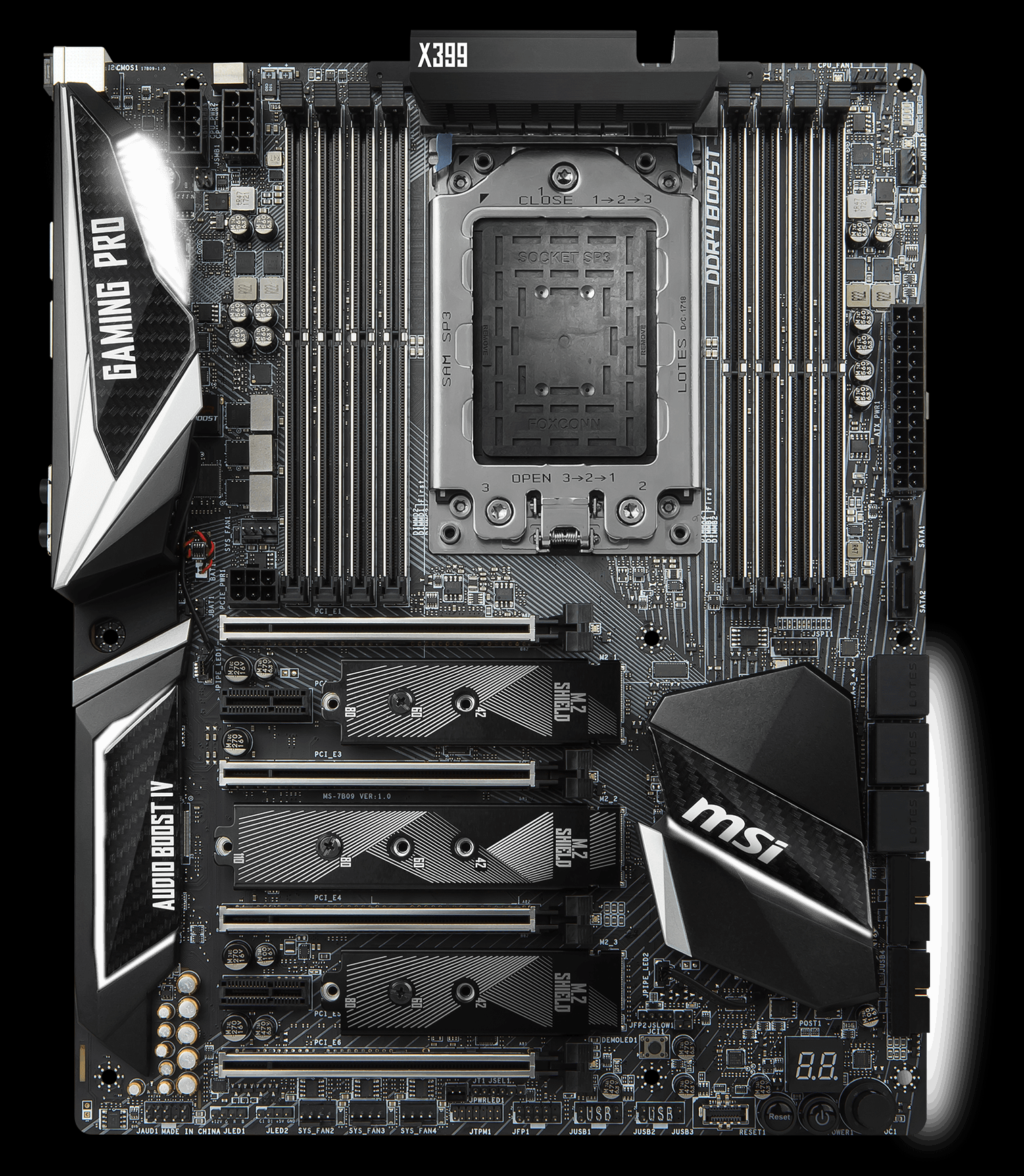X399 GAMING PRO CARBON AC | Motherboard - The world leader in