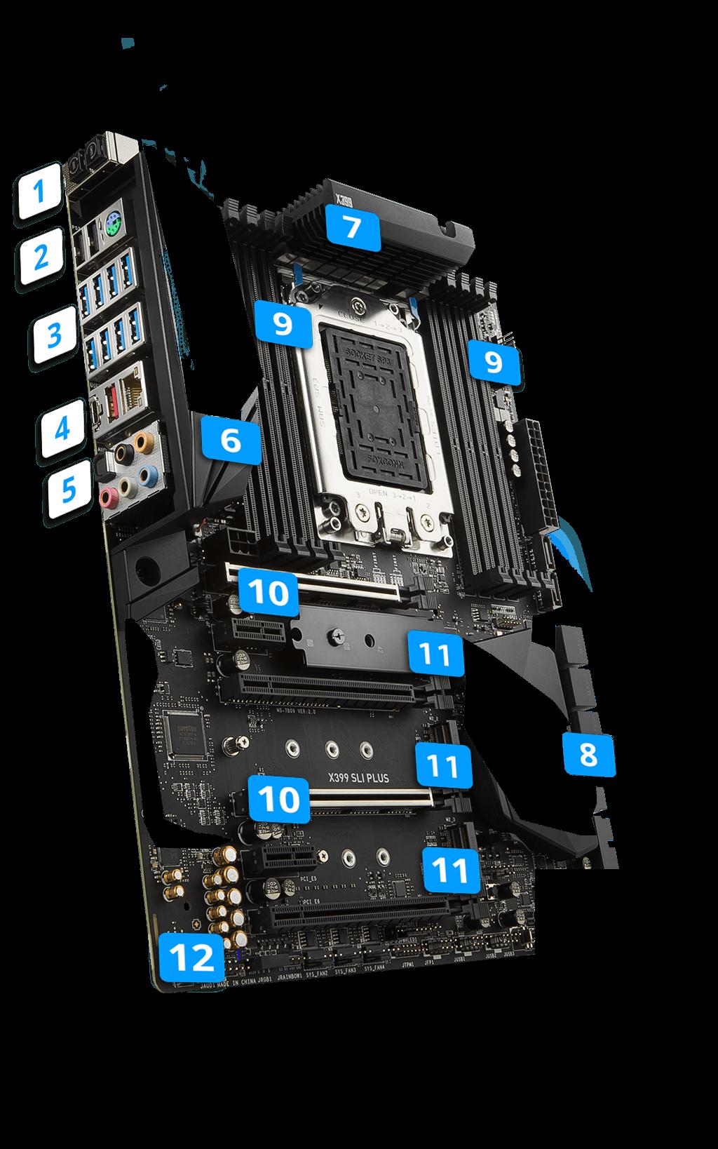 x399 sli plus motherboard the world leader in motherboard design