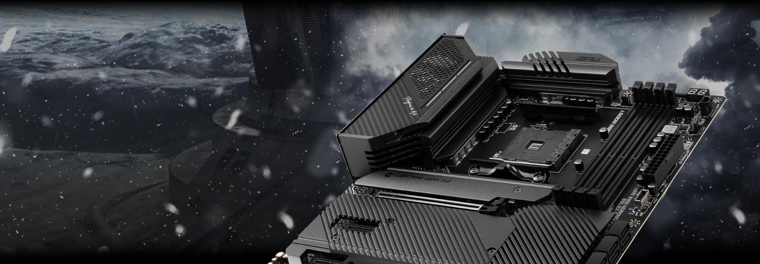 x570s carbon max wifi enhanced performance