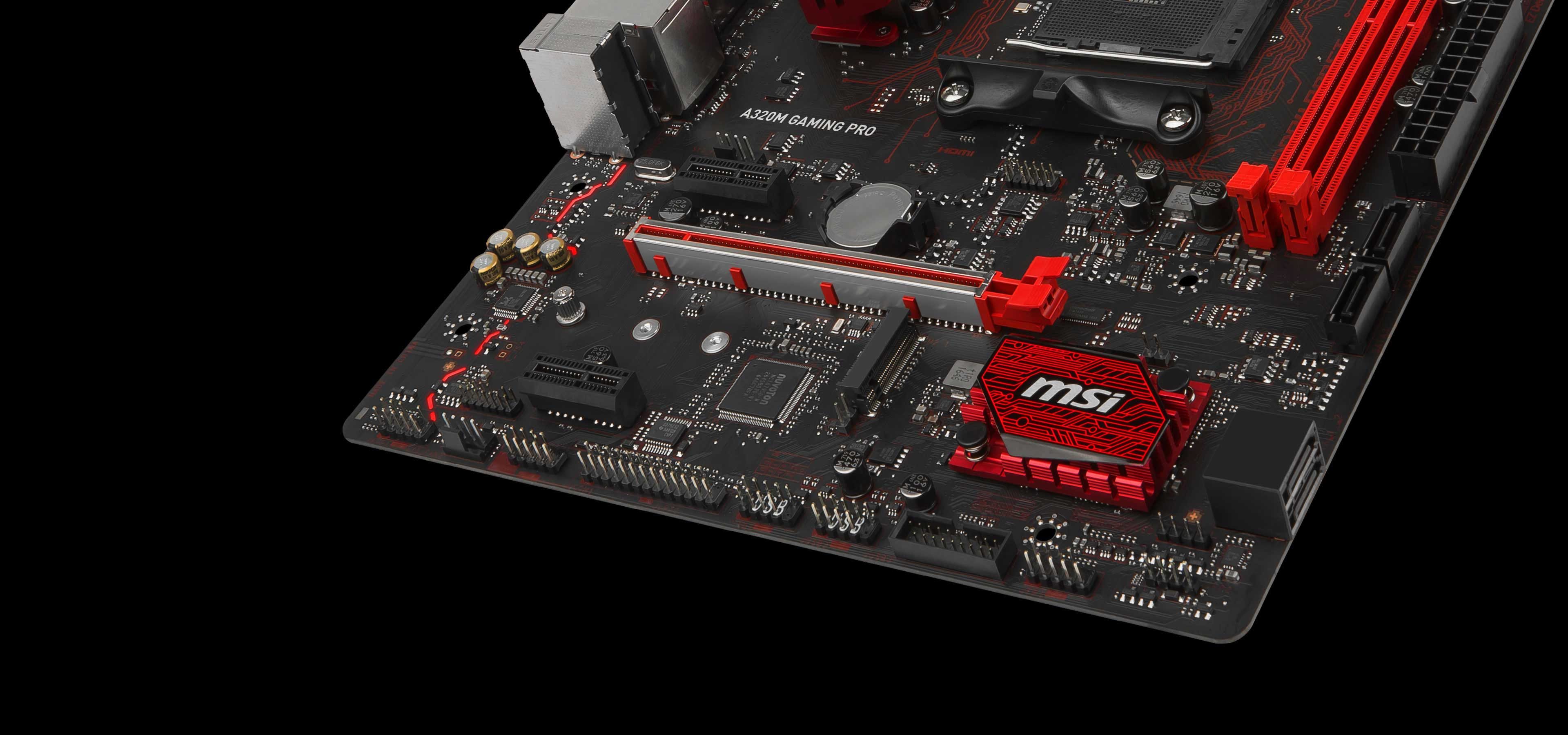 A320m Gaming Pro Motherboard The World Leader In Motherboard