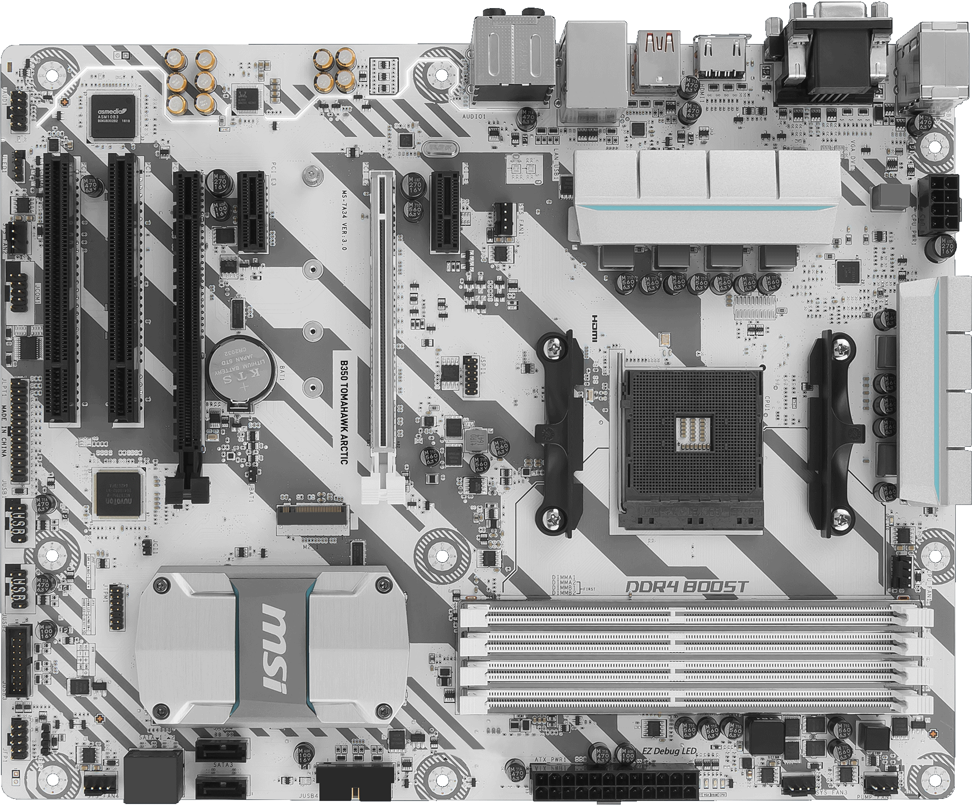 B350 TOMAHAWK ARCTIC | Motherboard - The world leader in motherboard