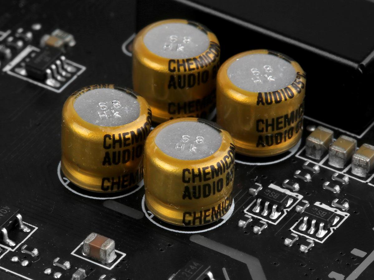 HIGH QUALITY Audio capacitors