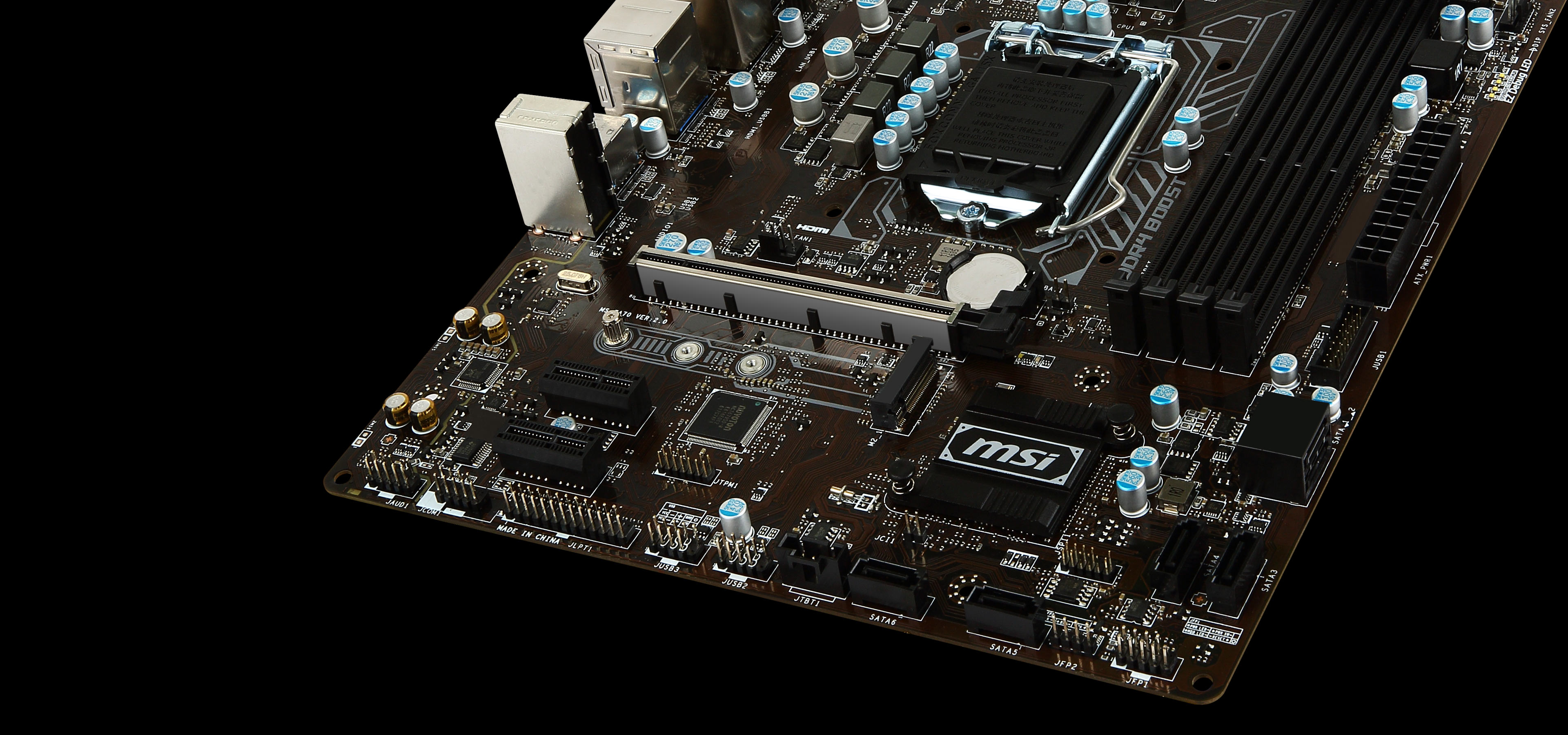 B250M PRO-VDH | Motherboard - The world leader in motherboard design