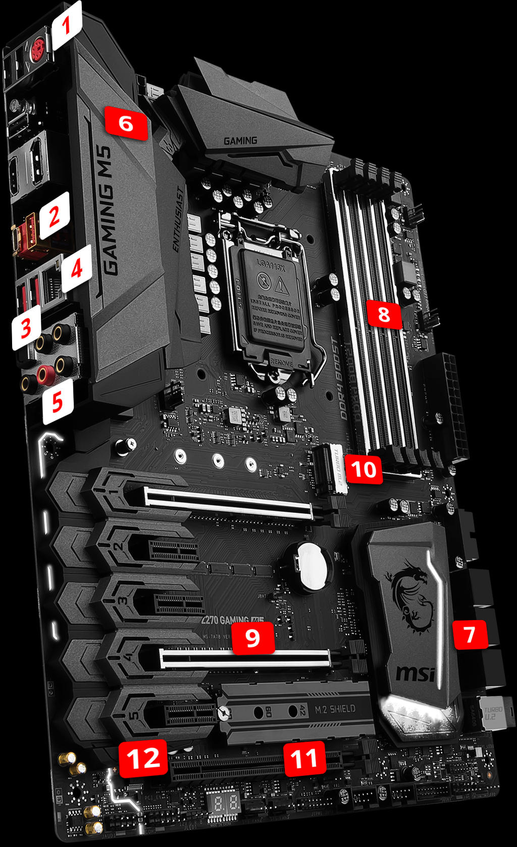 z270 gaming m5 motherboard the world leader in motherboard design msi global. Black Bedroom Furniture Sets. Home Design Ideas