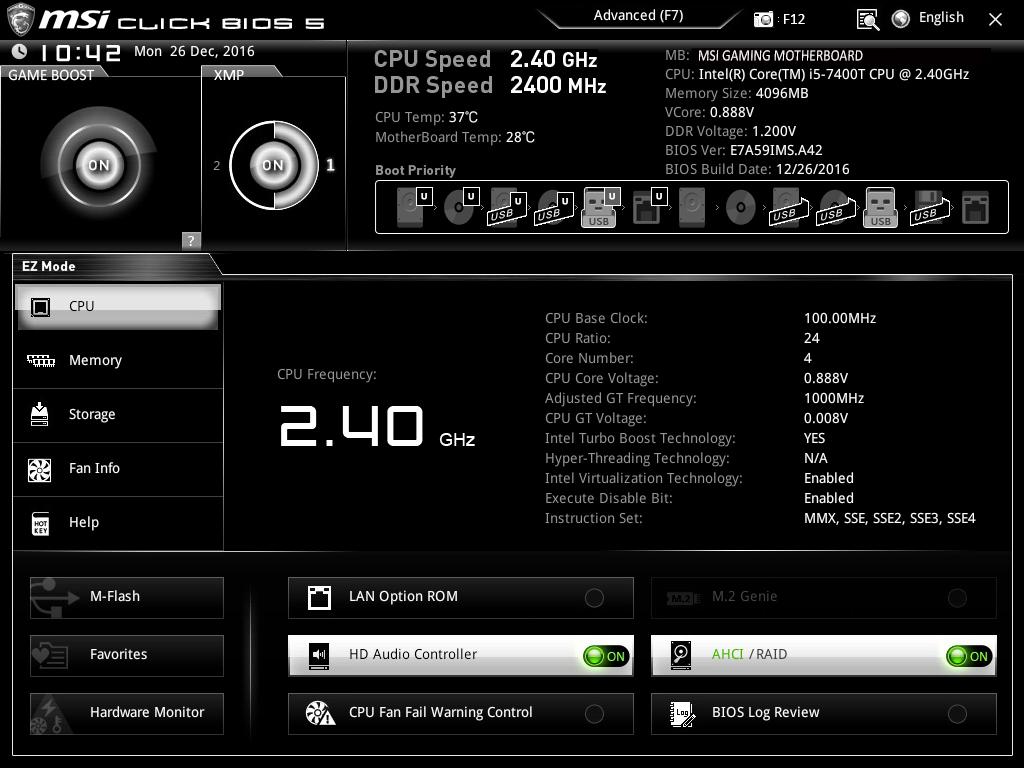 Z270 KRAIT GAMING   Motherboard - The world leader in