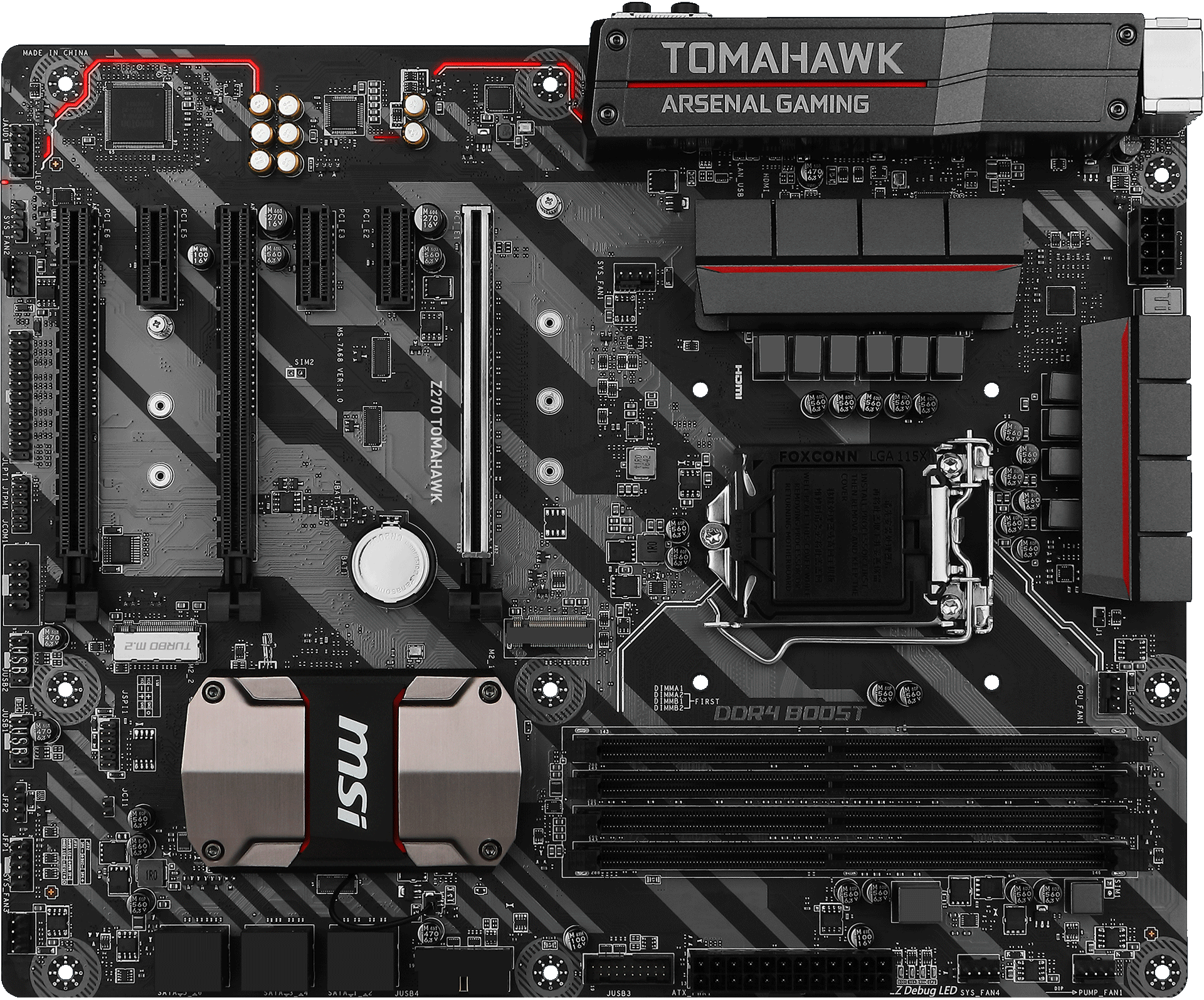 Z270 TOMAHAWK | Motherboard - The world leader in