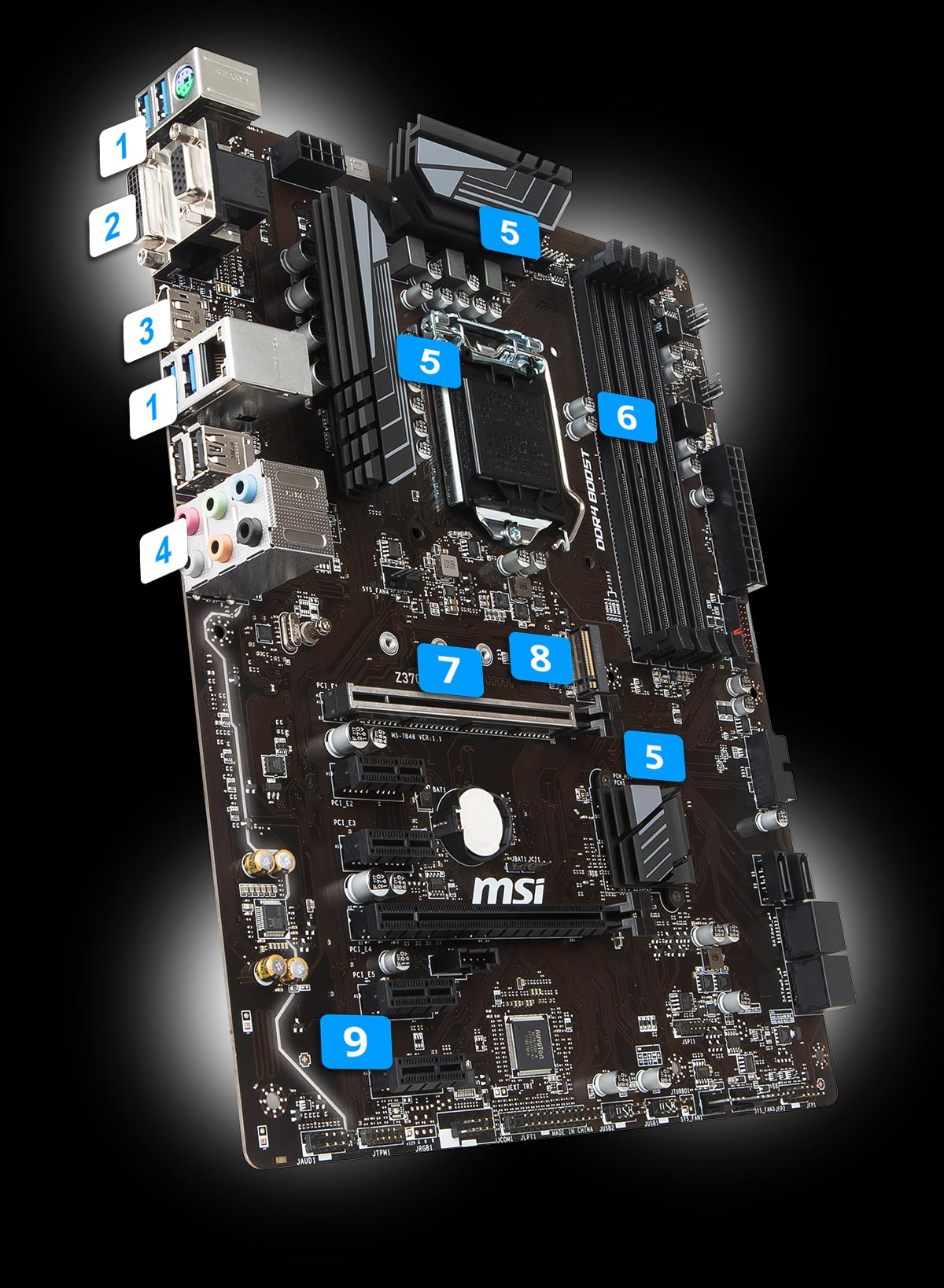 Z370 A Pro Motherboard The World Leader In Design Usb Plug Wiring Diagram On 2 0 Connection 4x 31 Gen1
