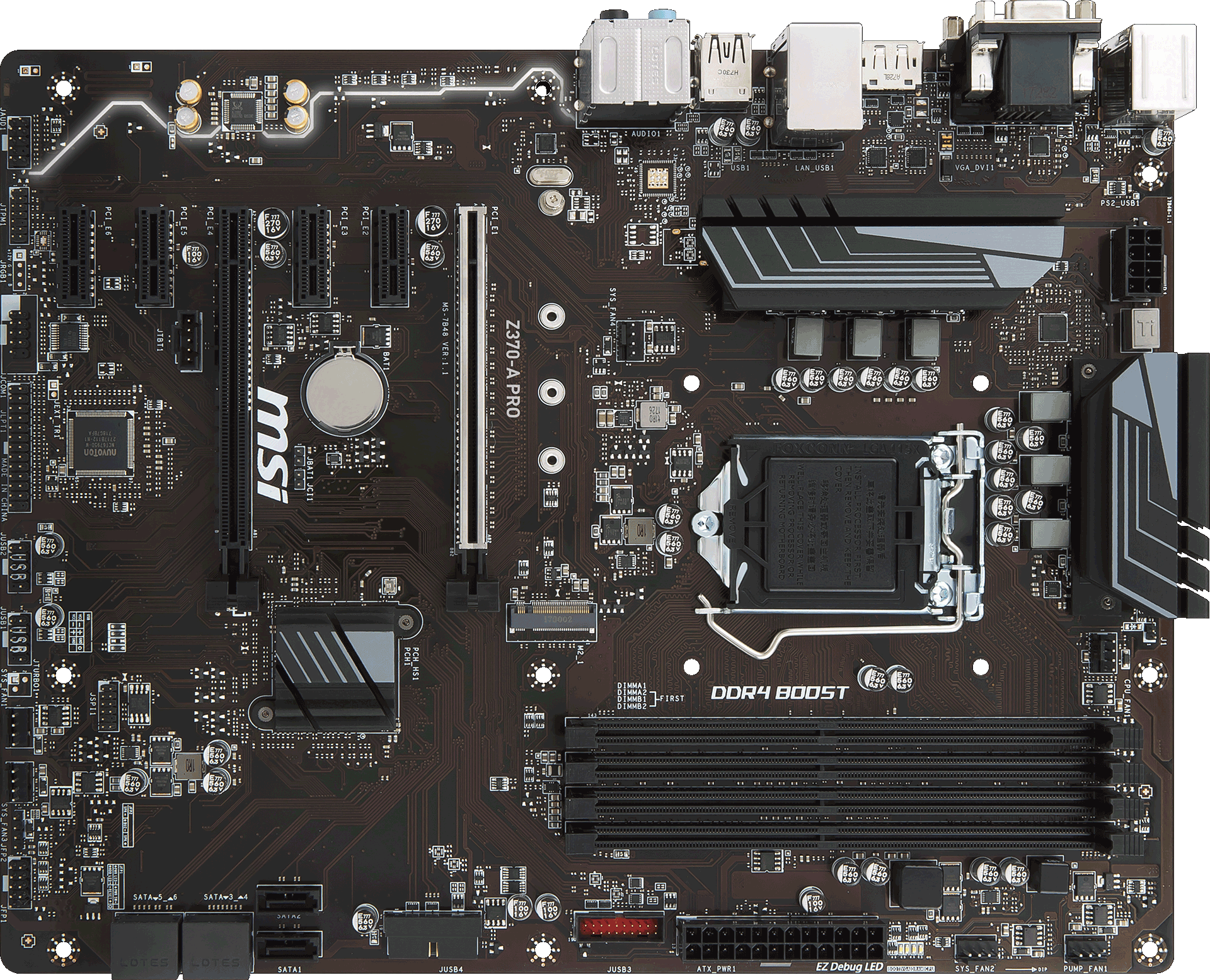 Z370 A Pro Motherboard The World Leader In Design There Are 2 Boards Main Board And Second One For Controls Tuning