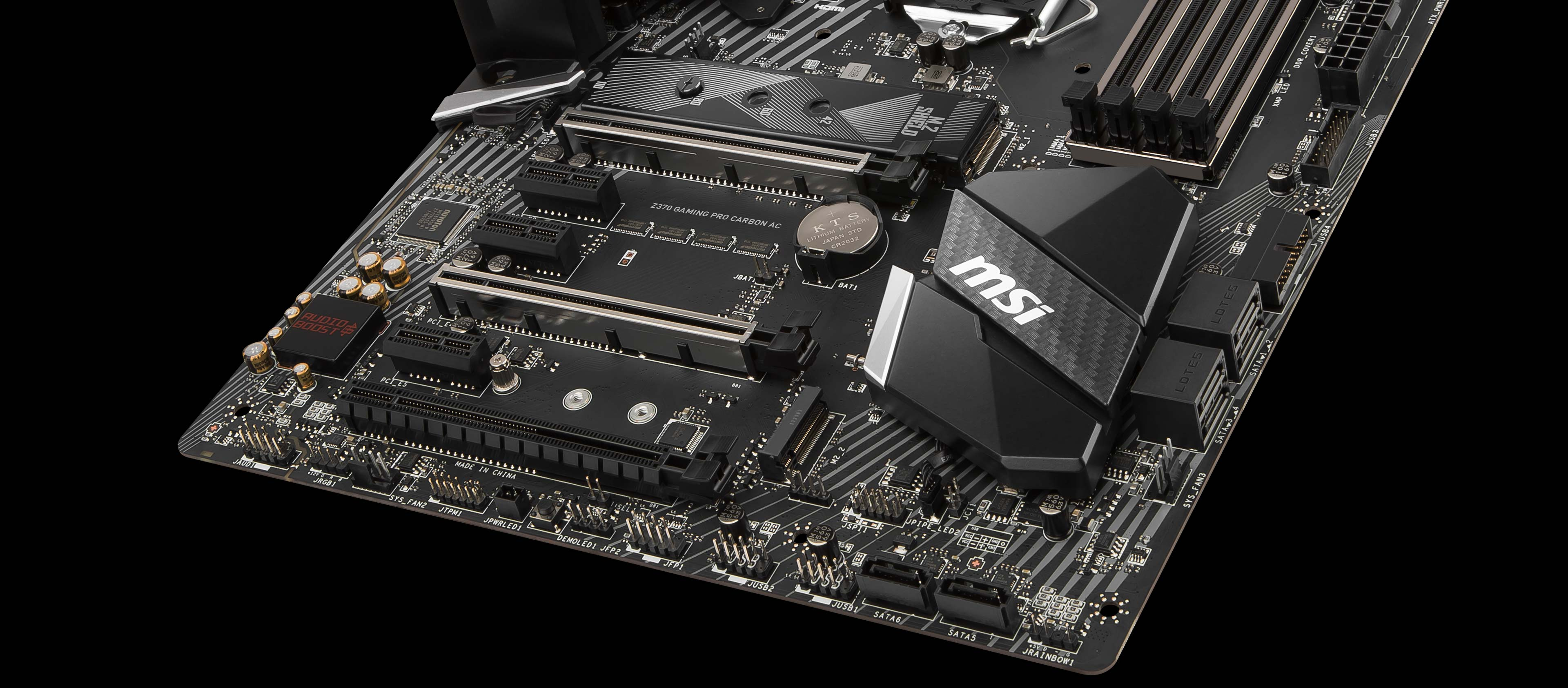 Z370 GAMING PRO CARBON AC   Motherboard - The world leader in