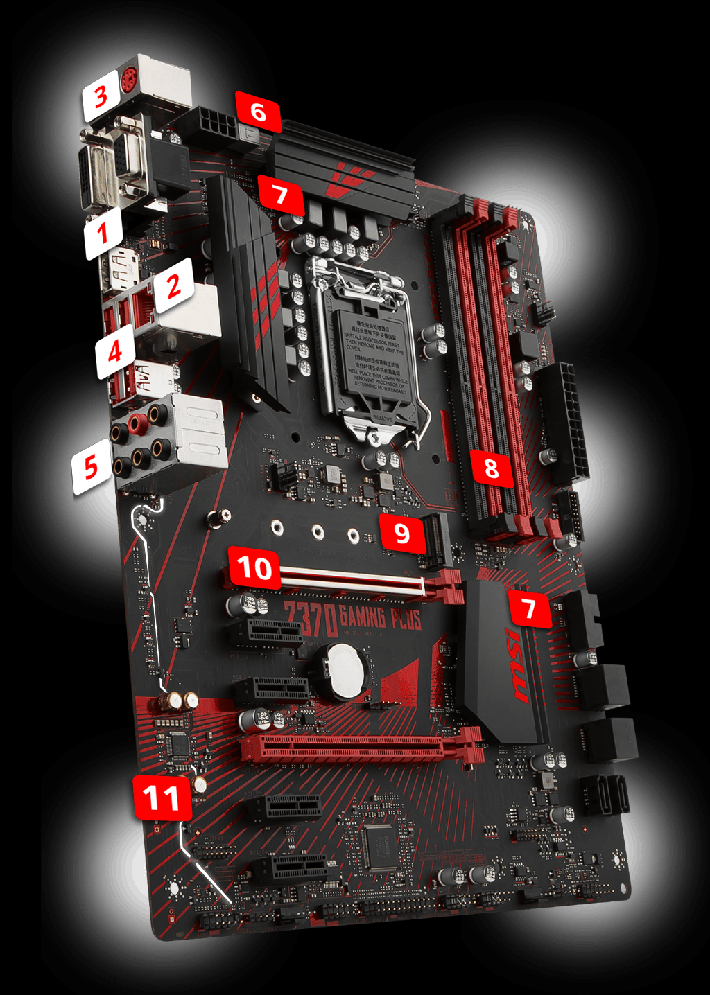 Z370 GAMING PLUS | Motherboard - The world leader in