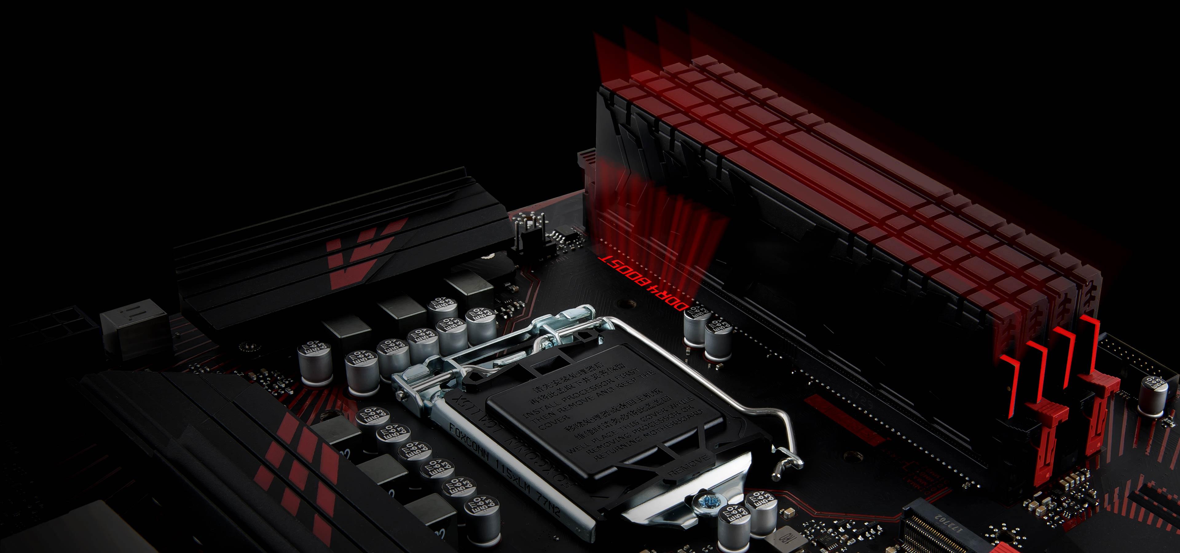 Intel Z370 SATA 6Gb//s USB 3.1 ATX Int MSI Z370 GAMING PLUS LGA 1151 300 Series