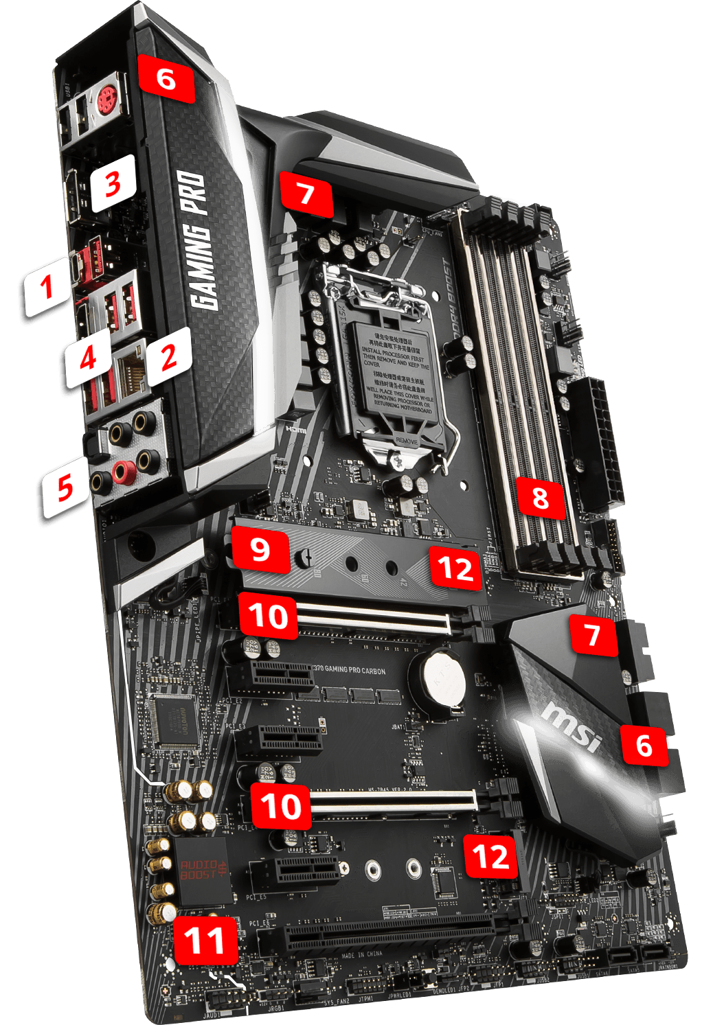 z370 gaming pro carbon motherboard the world leader in