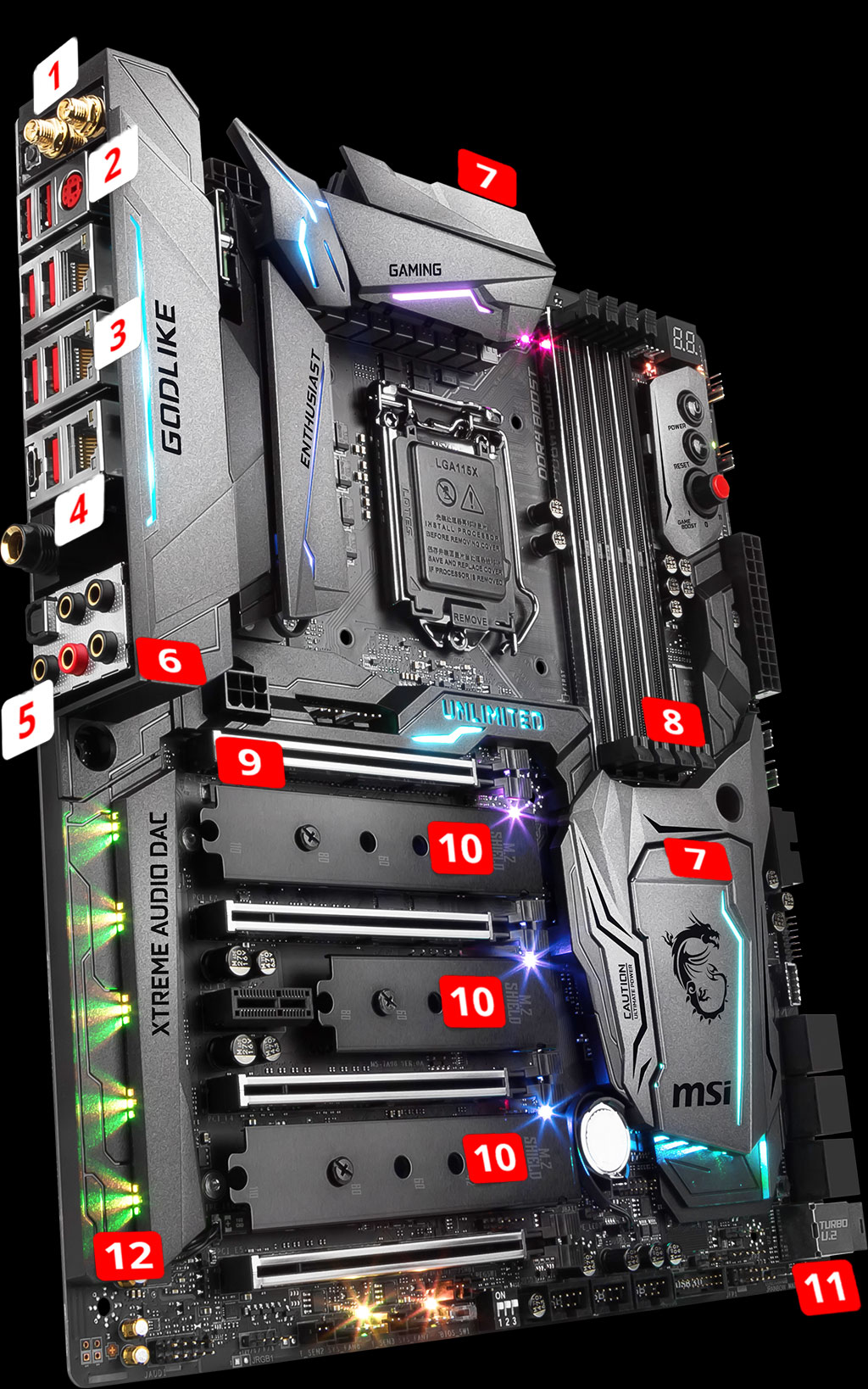 Z370 GODLIKE GAMING | Motherboard - The world leader in