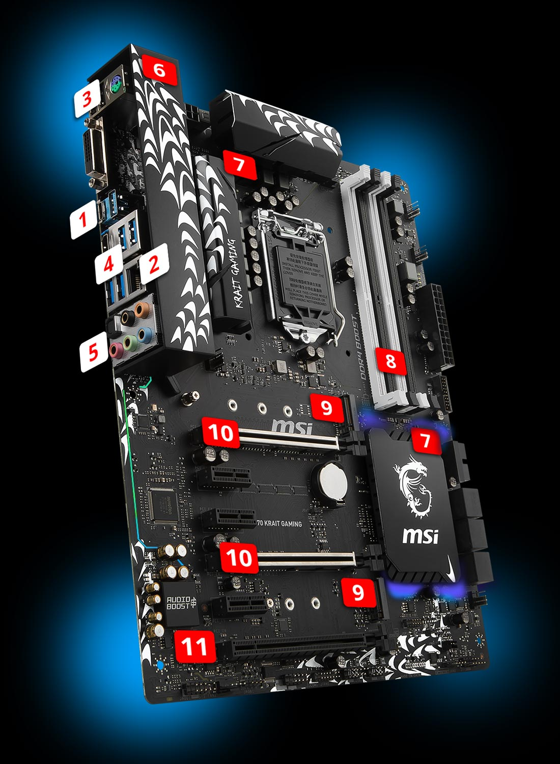 Z370 KRAIT GAMING | Motherboard - The world leader in motherboard
